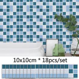 $enCountryForm.capitalKeyWord Australia - Blue Grey Marble Style Mosaic Tile Sticker Bathroom Kitchen DIY Decor Waterproof Wall Sticker Self adhesive Vinyl Stickers