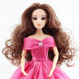 $enCountryForm.capitalKeyWord Australia - Doll Head For Kids Girls Boys 3d Real Eyes Acrylic Eyes Diy Accessories For Baby Dolls Head Diy Toys