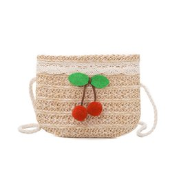 $enCountryForm.capitalKeyWord UK - 2019 children spring and summer simple shoulder bag cute mini straw bag tide girl baby Messenger bag