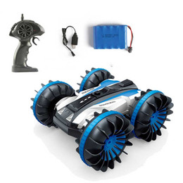 $enCountryForm.capitalKeyWord NZ - RC Car Amphibious 1:18 Remote Control Car Toy Stunt Off-road Four-wheel Drive on Water and Land Electric Toys For Children Gift