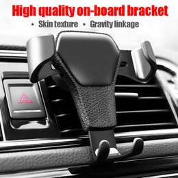 Wholesale Universal Car Phone Holder Air Vent Mount Stand For Phone In Car No Magnetic Mobile Phone Stand Holder with retail package