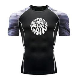 Best Wholesale T Shirts Australia - Best selling quick-drying breathable sports fitness jerseys men's fitness tights shirt football shirt running T-shirt Dem