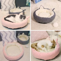 $enCountryForm.capitalKeyWord Australia - New Dual-use Pet Cat Bed Sleeping Nest Detachable Cat Kitten House High Quality Padded Dog Small Pets Rest tent Sofa Bed