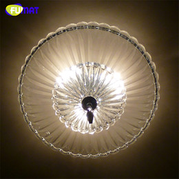 Modern Crystal Chandeliers Australia - FUMAT Round Modern Clear Glass Crystal Chandelier Ceiling Artistic Lights For Living Room Brief Fashion LED Glass Chandeliers