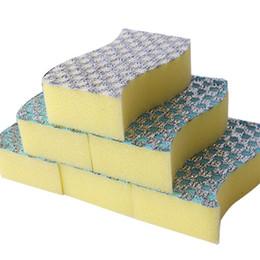 Kitchen Sponge Wipes Wholesalers Australia - Clean Sponges Wipe Kitchen Dish Cleaning Sponge Decontamination Cleaning Sponge Cookware Sponge Cleaning Wipe