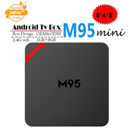 Best Media Player Android Australia - Best M95 MINI Allwinner H3 1G 8G Android 7.1 TV BOX Quad Core Ultra HD H.265 4K Stream Media Player Better Amlogic S905W TX3 X96 mini S912