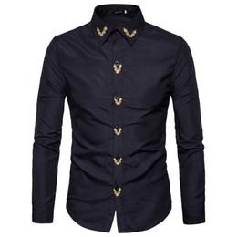 $enCountryForm.capitalKeyWord Australia - Shopping Pakistan Sari India Sari Cotton Polyester Men 2017 Hot New Fashion Men's Shirt Jacket Slim Popular Embroidery