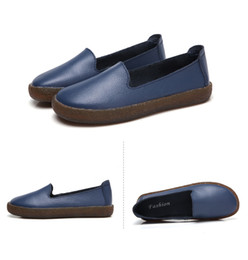 $enCountryForm.capitalKeyWord Canada - Designer Women Leather Espadrilles Top Quality Real Lambskin Women Flat Shoes Pearl Espadrilles Wild Driving Flats Shoes