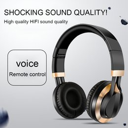 headphone wiring mic Canada - IN-868 Wired Headphones MIC HIFI Sound Headphone With HD Mic On-Ear Gaming Headset Stereo Bass 3.5 mm Audifono for PC PS4