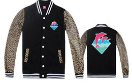 pink dolphin clothing brand 2019 - Fall-Men Jackets Pink dolphin fleece outerwear Coats brand name Men's clothing jacket hiphop autumn & winter Appare