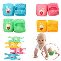 learning for infants NZ - 32*12.5cm Summer Baby Learn to Walk Knee Protector Baby Knee Pads for Crawling Drop Resistance Infant knee pads