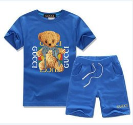 christmas clothes Australia - 696115 New HOT SELL classic children's wear boy 2-11 years old girl sports suit baby baby short sleeved clothes children's suit ACDE AAAAAA4