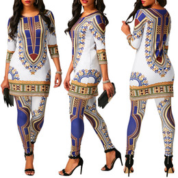 Velour Sweat Suits NZ - Women Clothes Two Piece Sets 2 piece woman set womens sweat suits joggers Plus Size Positioning Printing White National Wind Two-piece