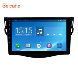 Discount android car control - car dvd Seicane Android 7.1 8.1 for 2013 Toyota RAV4 Radio 9 inch Car GPS Navigation Steering Wheel control support DVR