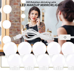 $enCountryForm.capitalKeyWord Australia - Hollywood Style LED Vanity Mirror Lights Kit with Dimmable Light Bulbs, Lighting Fixture Strip for Makeup Vanity Table Set in Dressing Room