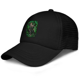 $enCountryForm.capitalKeyWord NZ - Green Arrow Emerald Archer In My Sight Licensed kids baseball caps Vintage Teen baseball cap Pigment black cap fashion baseball caps hats
