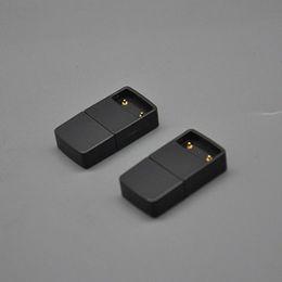 battery newest design 2019 - Newest 5V 120Mah Usb Black Charger Head Magnetic Portable Innovative Design Forjuul Vape Pen Flat E-cigarette Pod Kit Ba