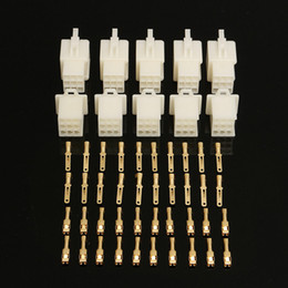 wholesale motorcycle connectors Australia - 2 3 4 6 9 Way 2.8mm Connector Terminal Kits For Motorcycle Motor Bike - 2