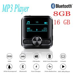 dsd player Australia - Hifi Sports Bluetooth Mp3 Voice Recorder Hifi Mp3 Player Bluetooth Dsd 8gb Voice Recorder Pen Hifi Audio Fm Radio Support E-book