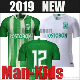 colombia jerseys Australia - 2019 2020 Top quality Atletico Nacional Medellin H.BARCOS Soccer Jersey Colombia Club Medellin Home Football Sports Uniform Football Shirt