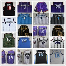 d4c694a9519 Retro Toronto Vince 15 Carter Jersey Purple White Kawhi 2 Leonard Top  Quality Stitched Tracy 1 McGrady Basketball Raptors Shorts Jerseys