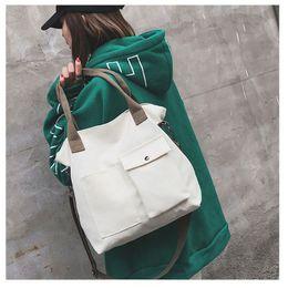 $enCountryForm.capitalKeyWord Australia - 1 Pc Women Fashion Handbag Lady Shoulder Bag Tote Purse Canvas Messenger Hobo Top Handle Bags Handbags 2019 Brand Design