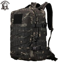 hike pack NZ - 45L Nylon Tactical Backpack Army Outdoor Rucksack Camping Tactical Backpack Hiking Sports Molle Pack Climbing Bag Bags