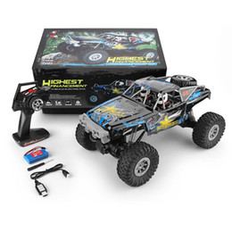 $enCountryForm.capitalKeyWord Australia - wholesale 104310 2.4G 1 10 4WD Double Bridge Crawler 15km h Racing Car 40 Minis Using With Transmitter Charger RC Off-road Car Toy