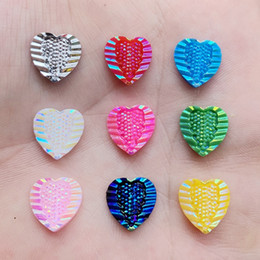 $enCountryForm.capitalKeyWord UK - Heart Rhinestone Applique Flatback Crystal Stones Resin Gems Non Hotfix Strass for DIY Wedding Decoration 12mm 400pcs -E14