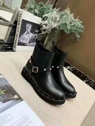 $enCountryForm.capitalKeyWord Australia - Latest Brand Fashion Designer Women Martin Boots Leather Thick Heel Boots Luxury Women Shoes Loafers Winter Boots TOP Quality jasmine11