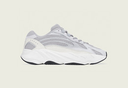 best service a438c 8465a 2019 New Adidas yeezy 700 Yeezys Wave Runner 700 Static V2 Malva Kanye west  700 Boost 700s Zapatillas de running para hombre Negro Blanco Azul  Diseñador ...