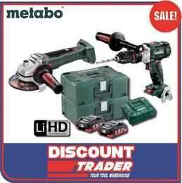 Vente en gros Kit de meuleuse d'angle pour perceuse à percussion Metabo 18V 4.0Ah LiHD - AU68901780