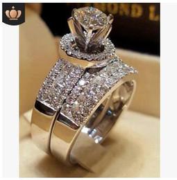 $enCountryForm.capitalKeyWord Australia - Zircon lover ring womens diamond ring good quality wedding crystal rings jewelry party birthday gifts 2019 new many styles 222