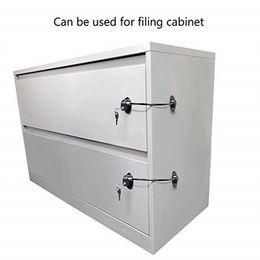 $enCountryForm.capitalKeyWord NZ - Children's safety shifting door lock Refrigerator Door Lock with 2 Keys Fridge Freezer Child Proof Safety