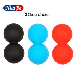 $enCountryForm.capitalKeyWord Australia - Silicone Elastic Peanut Yoga Massage Massager Ball Rollers Back Trigger Point Therapy Sports Gym Release Excise MobilityTool