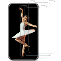 iphone glass screen guard Australia - 3Pcs 5D Tempered Glass For iPhone X XS XR XS Max Screen Protector Guard Film Mobile Phone Case Cover+Clean Kits Explosion Proof