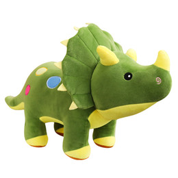 dinosaur toys for babies NZ - Giant Huge Stuffed Dinosaur Plush Toy Colorful Plush Dinosaur Pillow Cushion for Baby Gifts Kid Children Xmas Birthday Party Gifts