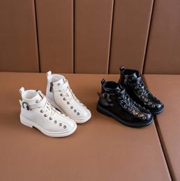 $enCountryForm.capitalKeyWord Australia - Fall 2019 New High Upper Board Shoes Fashionable Martin Boots for Boys and Girls