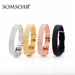 Mesh stainless steel bangle wholesale online shopping - Stainless Steel Mesh Charm Vintage Bracelet Pandora Bangle Clip Stopper Beads Fit Pan Diy Jewelry Accessories