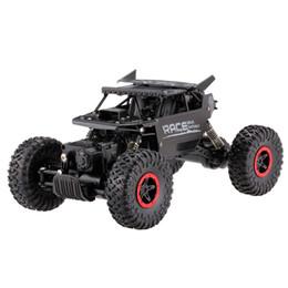 Goolsky 9118 1: 18 Rc Car .4g 4wd Aleación Cuerpo de Metal Rastreador de orugas Rc Buggy Car Suv Vehículos Control remoto Juguetes en venta