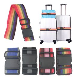 $enCountryForm.capitalKeyWord Australia - 1.8M Elastic Luggage Lock Strap Travel Bag Parts Suitcase Fixed Belt Trolley Adjustable Security Accessories Supplies