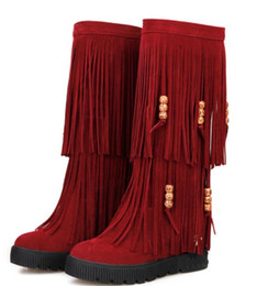 $enCountryForm.capitalKeyWord NZ - 2018 Suede Women's Boots in winter with New style flat bottom Thick bottom round head Keep warm Non-slip @32