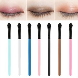 eye shadow sponge applicator Australia - 5Pcs Sponge Makeup Brush Eye Shadow Brushes Cotton Eye Applicator Cosmetic Tool