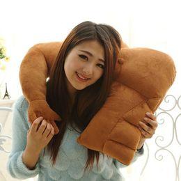 Pillows arms online shopping - Lovely Boyfriend Arm Pillow Plush Toys Soft Stuffed Muscle Arm Sleeping Hug Pillow Doll Funny Home Sofa Cushion Plush Toys