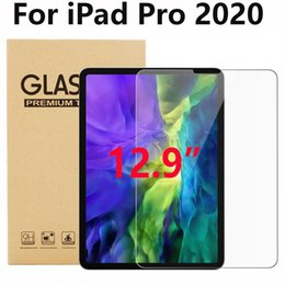 "anti glare tablets NZ - Tablet Pad Tempered Glass Screen Protector for IPAD PRO 12.9 2020 12.9"" 12.9 inch in retail package dhl free shipping"