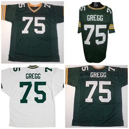 d8e21984d Pittsburgh Steelers Jerseys Australia - Wholesale NCAA 75 Forrest Gregg  Cheap Retro custom Forrest Gregg Sewn