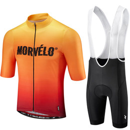 $enCountryForm.capitalKeyWord Australia - 9D pad,Morvelo 2019 Cycling Jersey Short Sleeve Summer bib shorts Bicycle Clothes Quick Dry Shirt Clothing Maillot