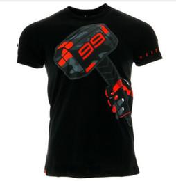 Breathable Summer Motorcycle Jackets Australia - 2019 Men's T-shirt Moto GP Motorcycle Racing Sports Summer Black Tee J K