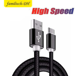 $enCountryForm.capitalKeyWord Australia - Hot Nylon Braided Cable Fast Charging USB Cables Micro Usb Cable Data Sync Charger Cable with retail box for Andriod Samsung 1M 2M 3M