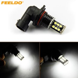 Truck led headlighTs online shopping - FEELDO V DC Car Truck White SMD Chip Led Fog Light Headlight Lamp Bulbs FD